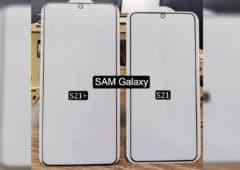 galaxy s21 plus photo compare immense écran
