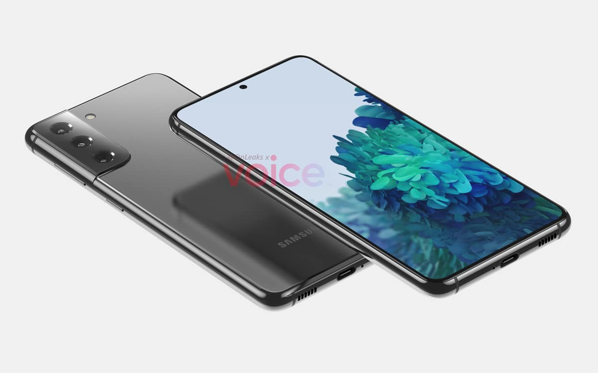 Samsung Galaxy S21 fuite design