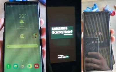 galaxy-s9-s10-s20-plus-note9 bugs écran mise jour