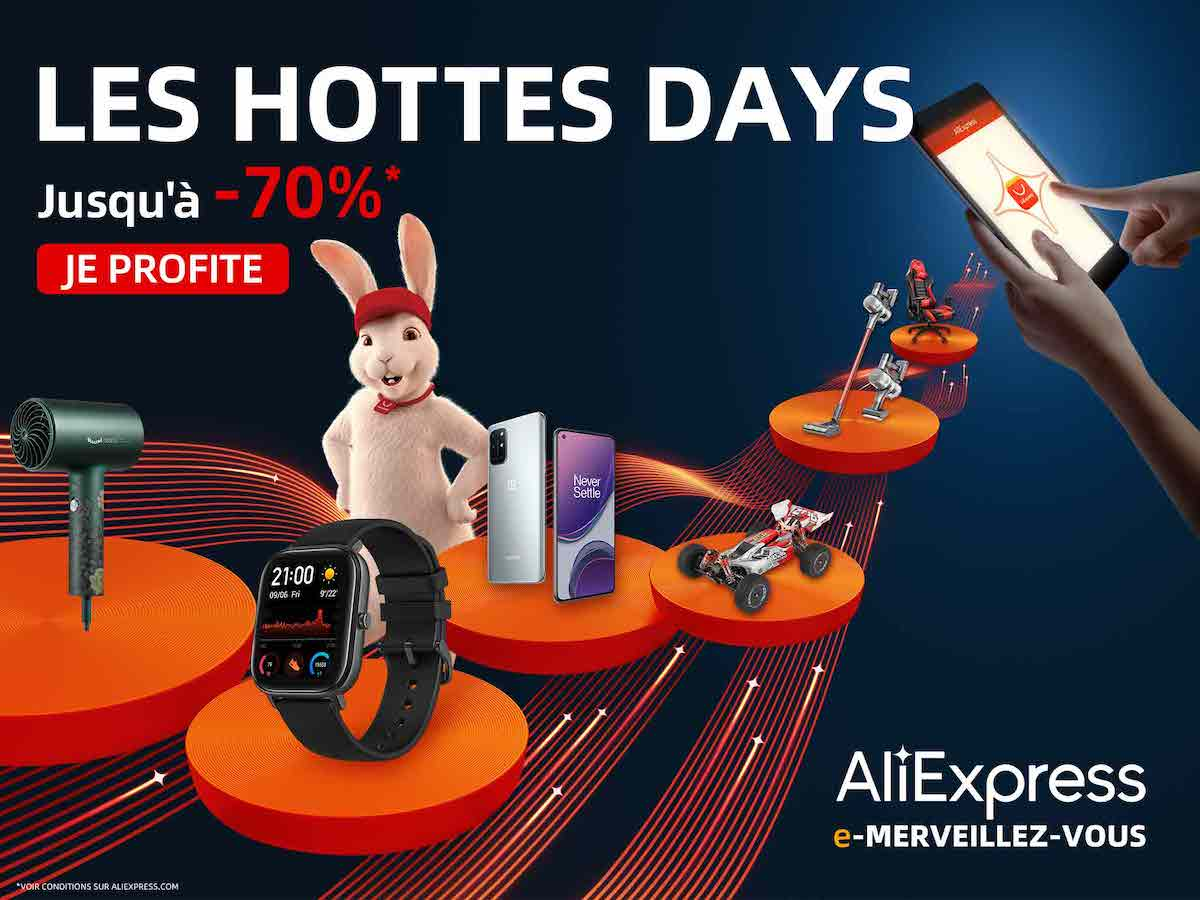 AliExpress Les hottes days