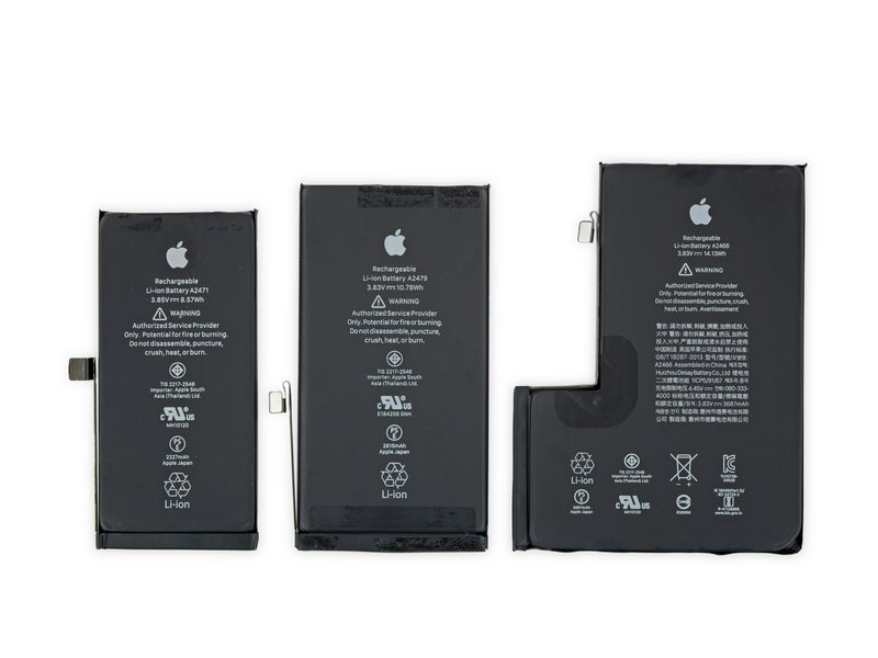 batterie iPhone 12 Pro Max