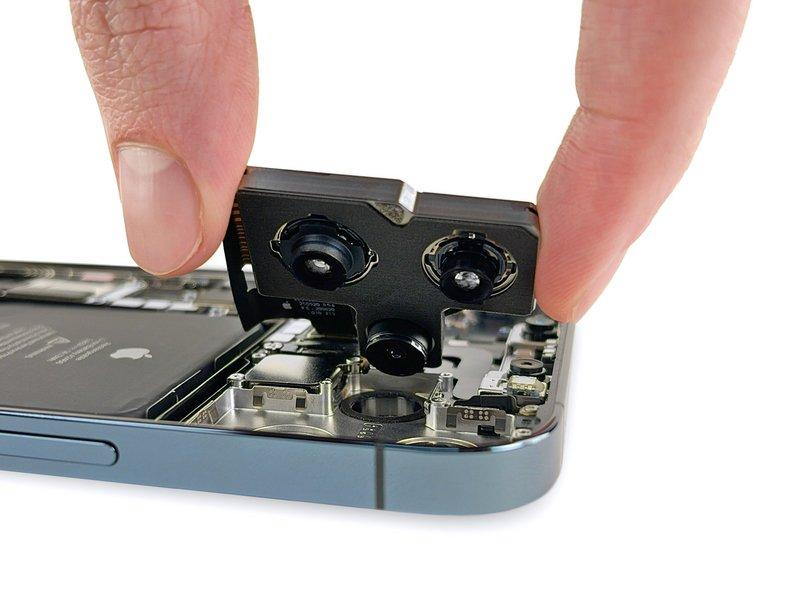 iphone 12 pro max ifixit capteurs photo