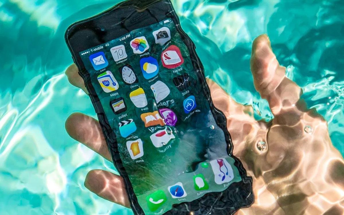iphone apple amende résistance eau