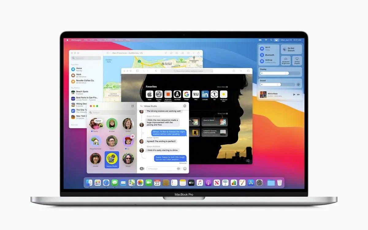 macOS Big Sur bugs