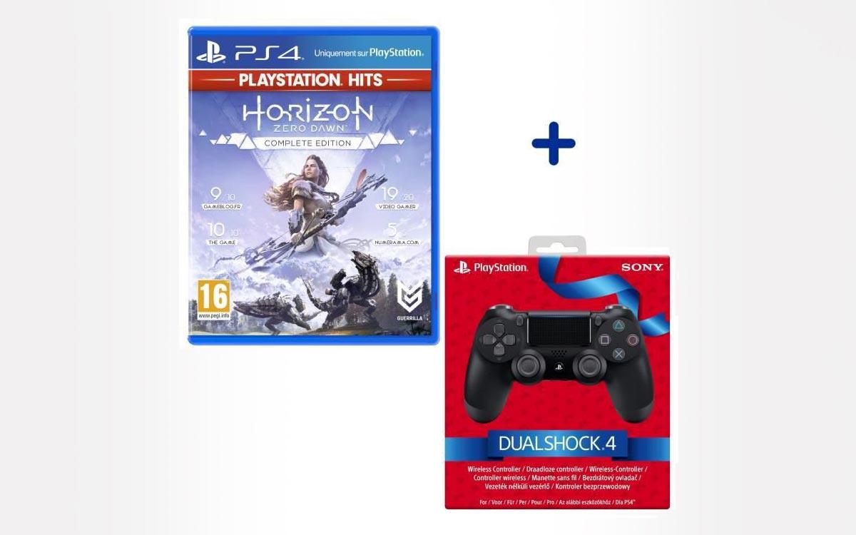 Manette PS4 Dualshock Horizon Zero Dawn