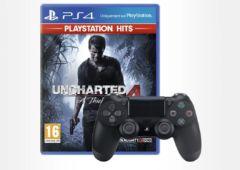 offre Auchan manette PS4 jeu PlayStation Hits