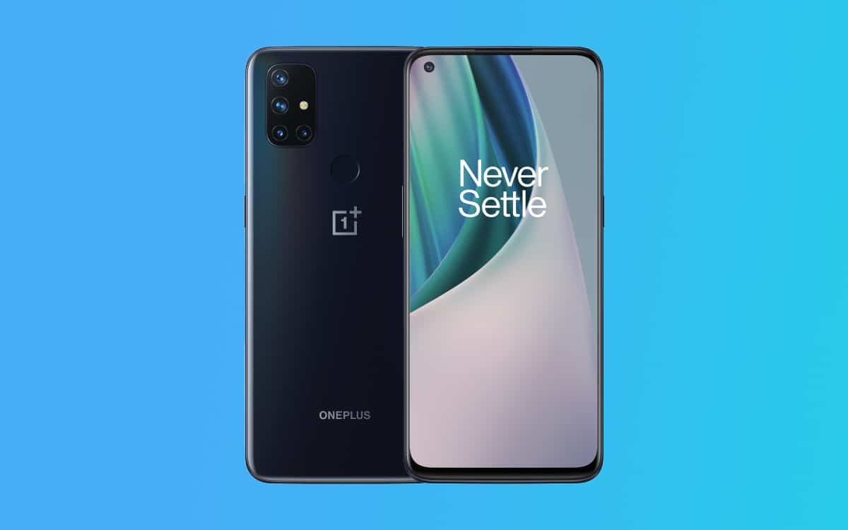 oneplus nord N100 n10 mise jour android