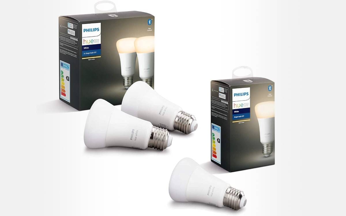 pack ampoules Philips Hue White E27