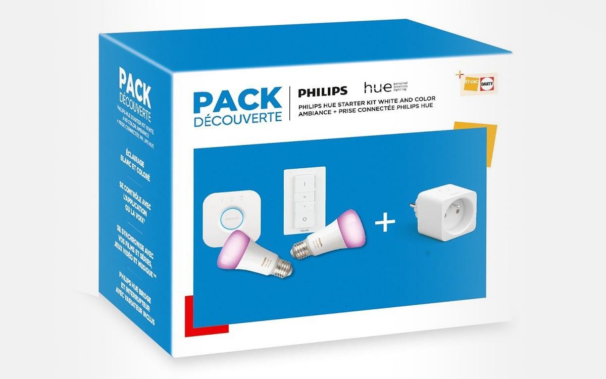philips hue darty fnac pack