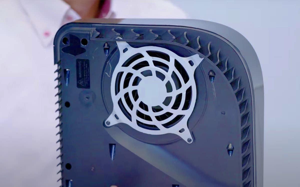 PS5 ventilateur Sony