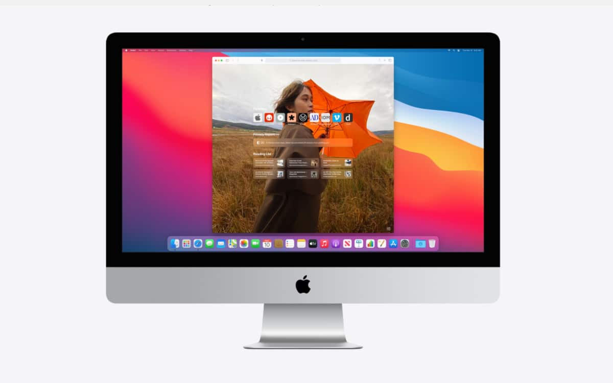 Safari macOS Big Sur