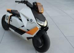 scooter electrique bmw