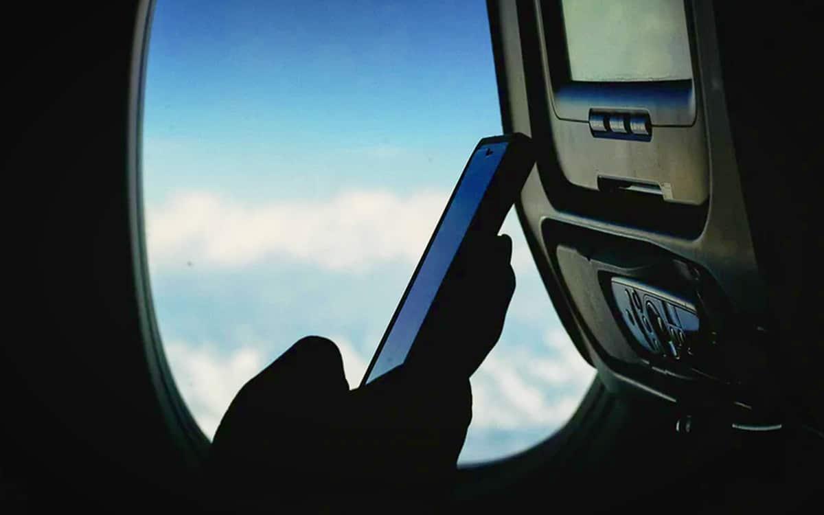 Smaprtphone Téléphone Avion