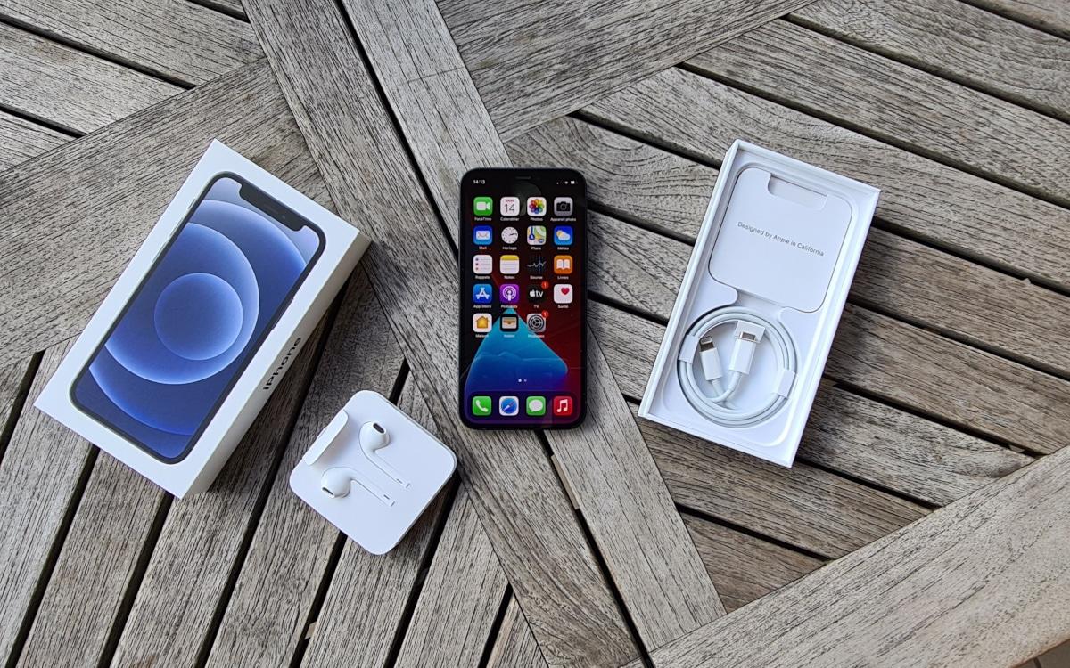test apple iphone 12 mini accessoire