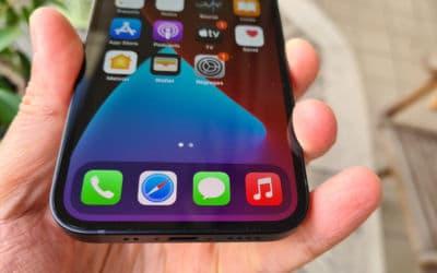 test apple iphone 12 mini ecran 1