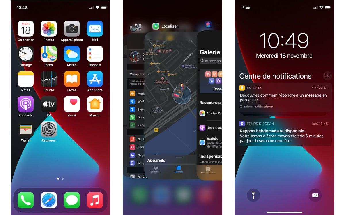 test apple iphone 12 mini interface 1