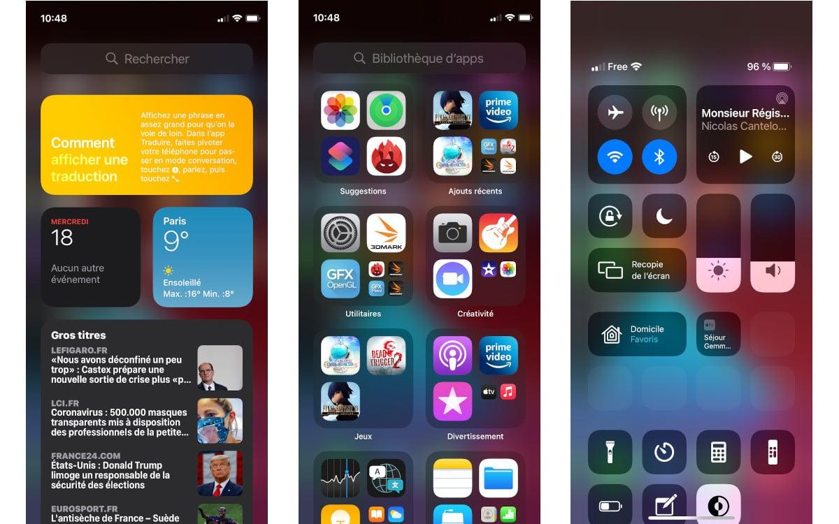 test apple iphone 12 mini interface 2