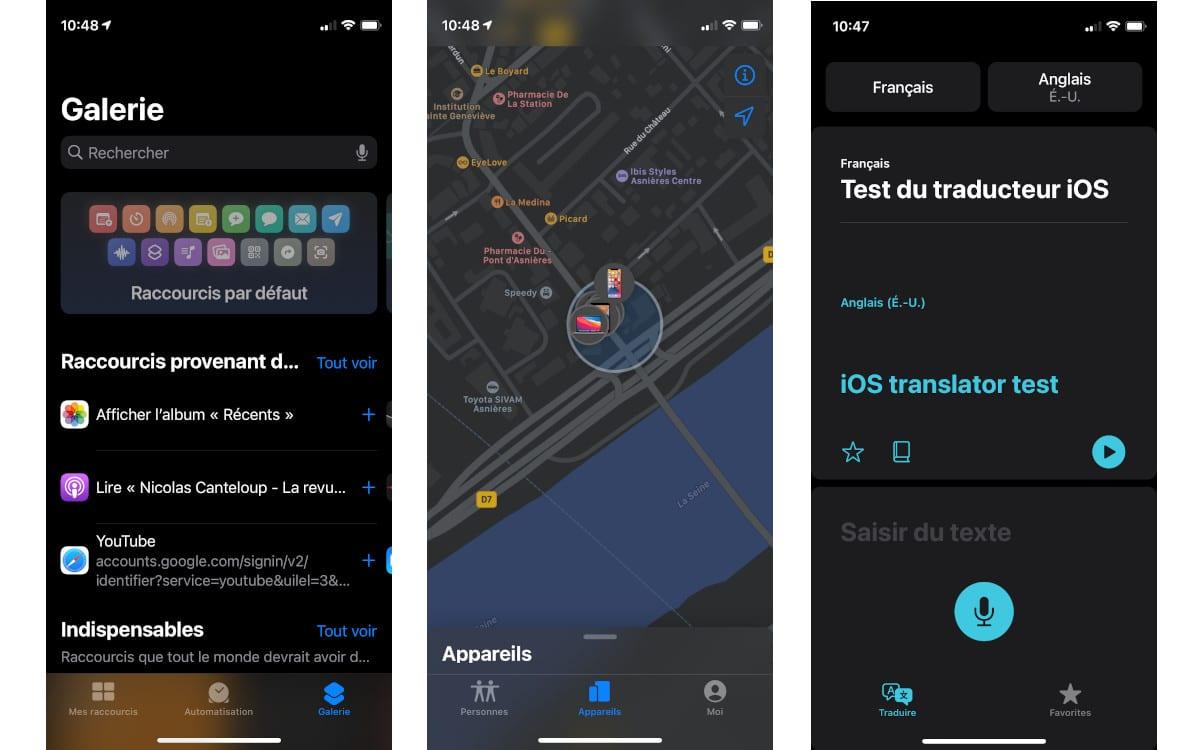 test apple iphone 12 mini interface 3