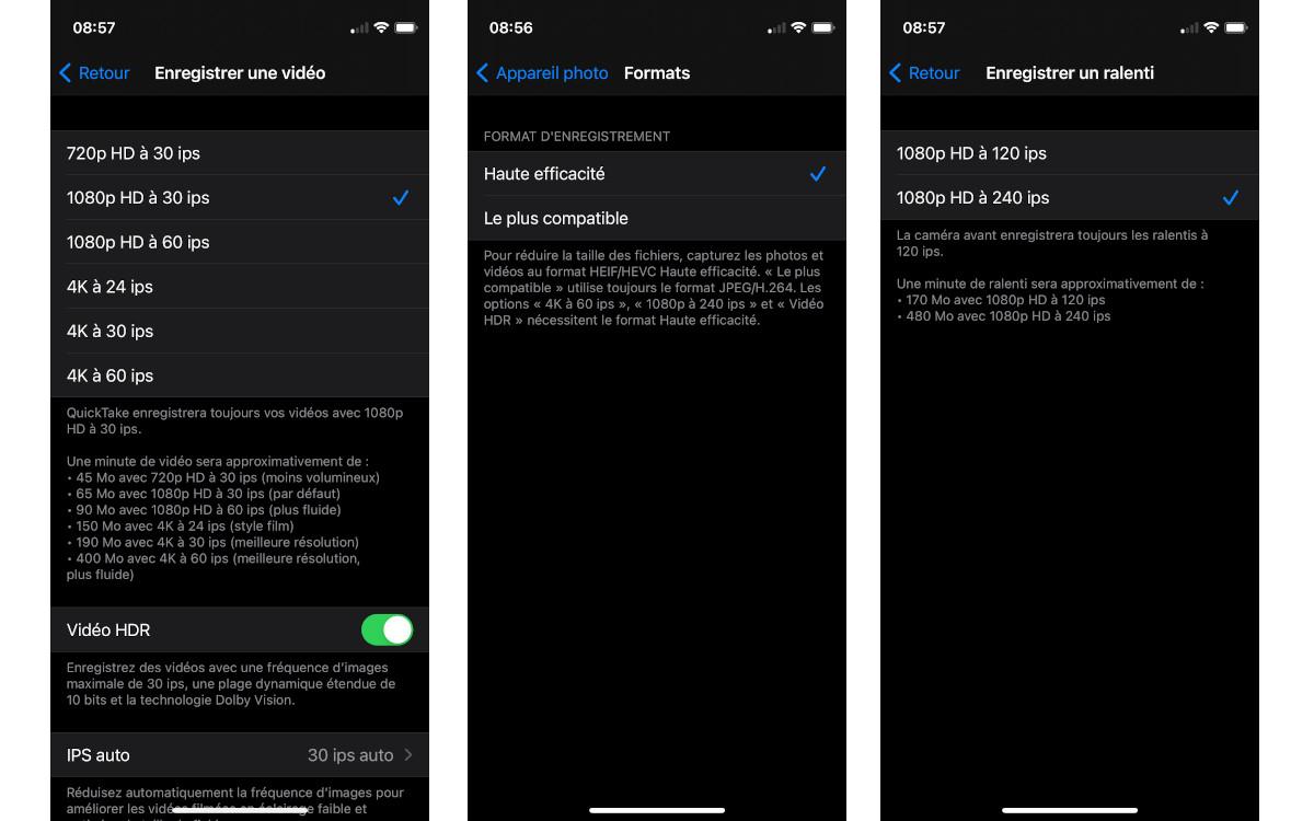 test apple iphone 12 mini photo reglage