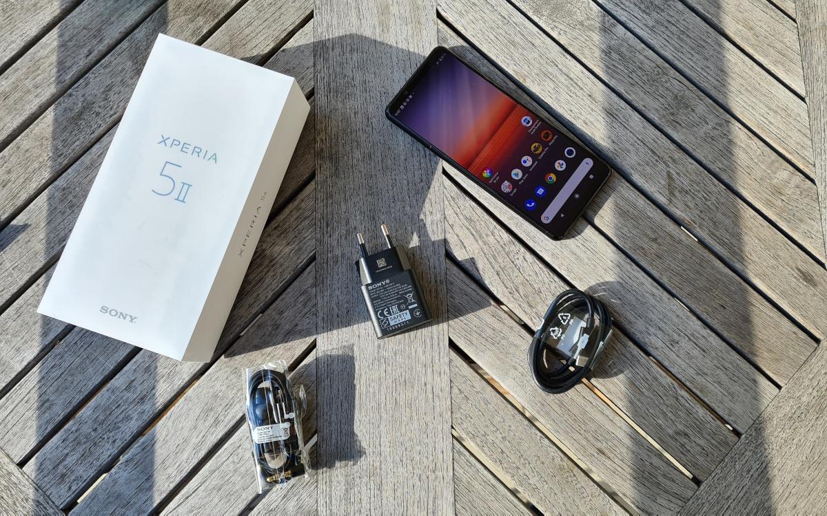 test xperia 5 mark 2 accessories