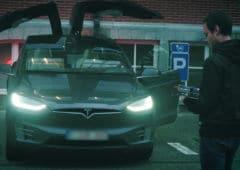 vol Tesla Model X