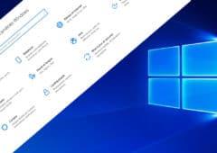 windows 10 panneau configuration