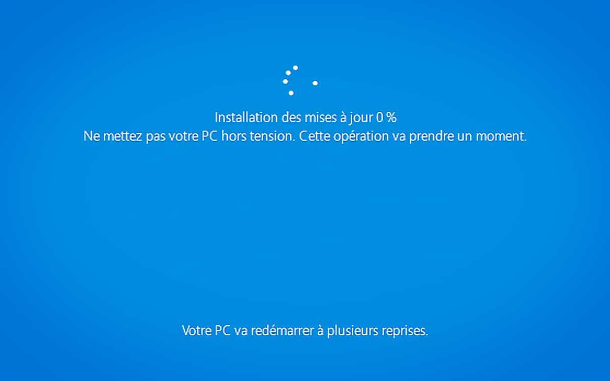 Windows 10 Update mise à jour