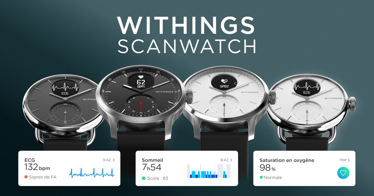 please your loved ones with the Withings ScanWatch connected watch! |  EarnGurus
