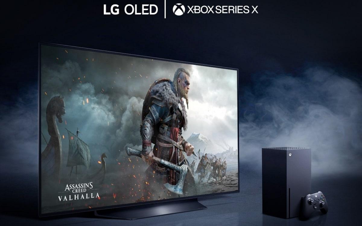 Xbox Series X LG TV OLED