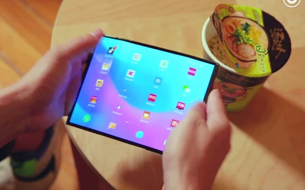 xiaomi smartphone pliable printemps 2021