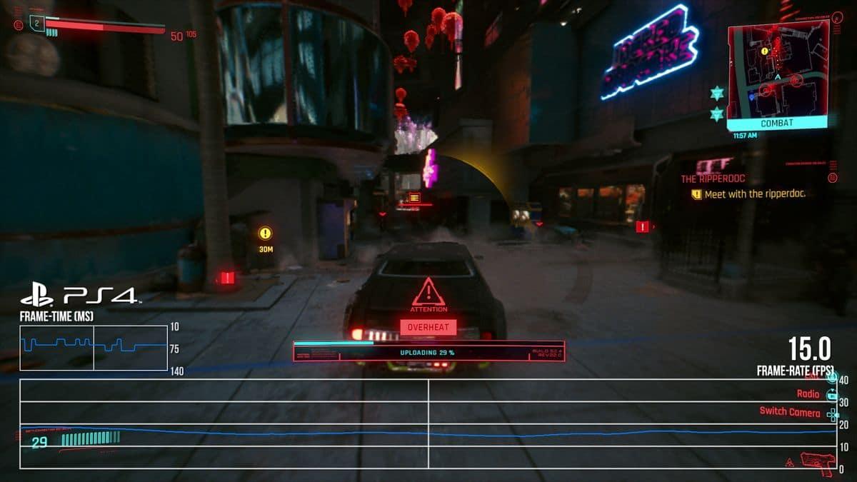 Cyberpunk 2077 perf