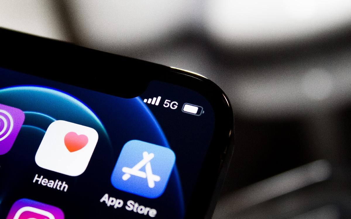 5G sur iPhone