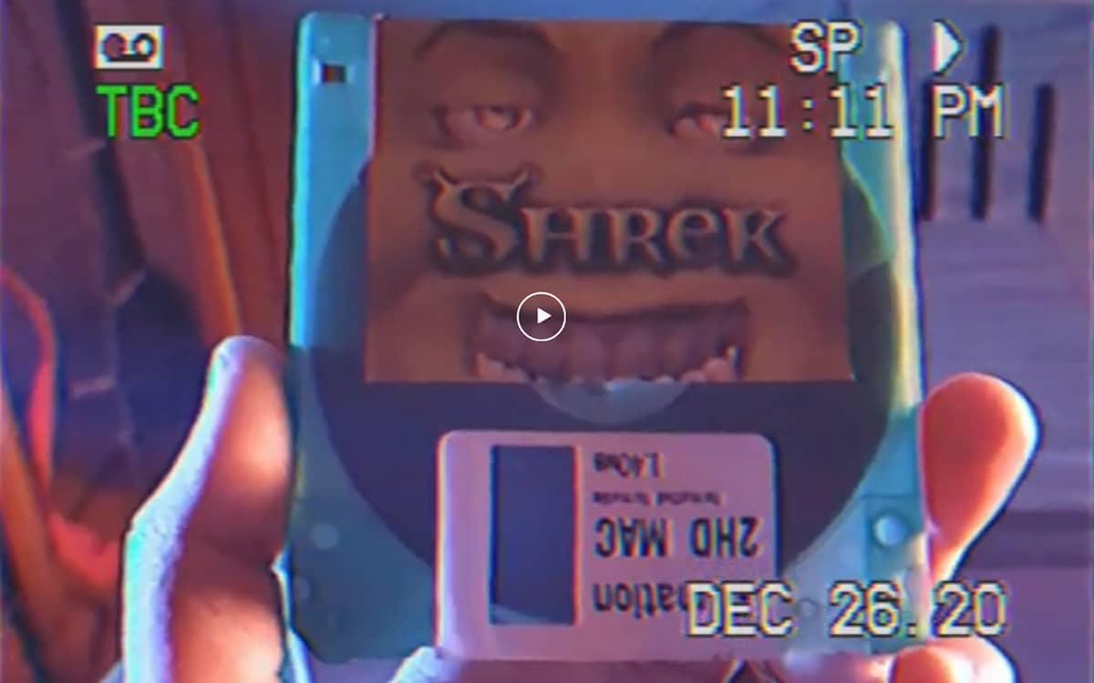 Disquette Film Shrek