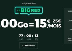 Forfait Big Red SFR 200 Go