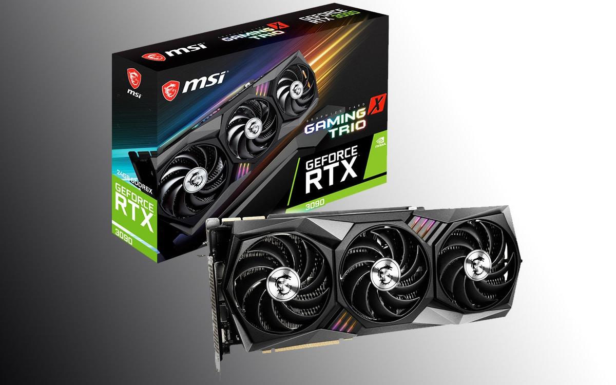 MSI Geforce RTX 3090 Trio