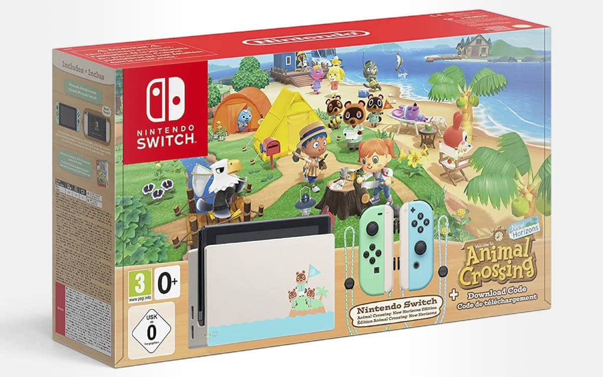 Nintendo Switch Animal Crossing chez Cdiscount