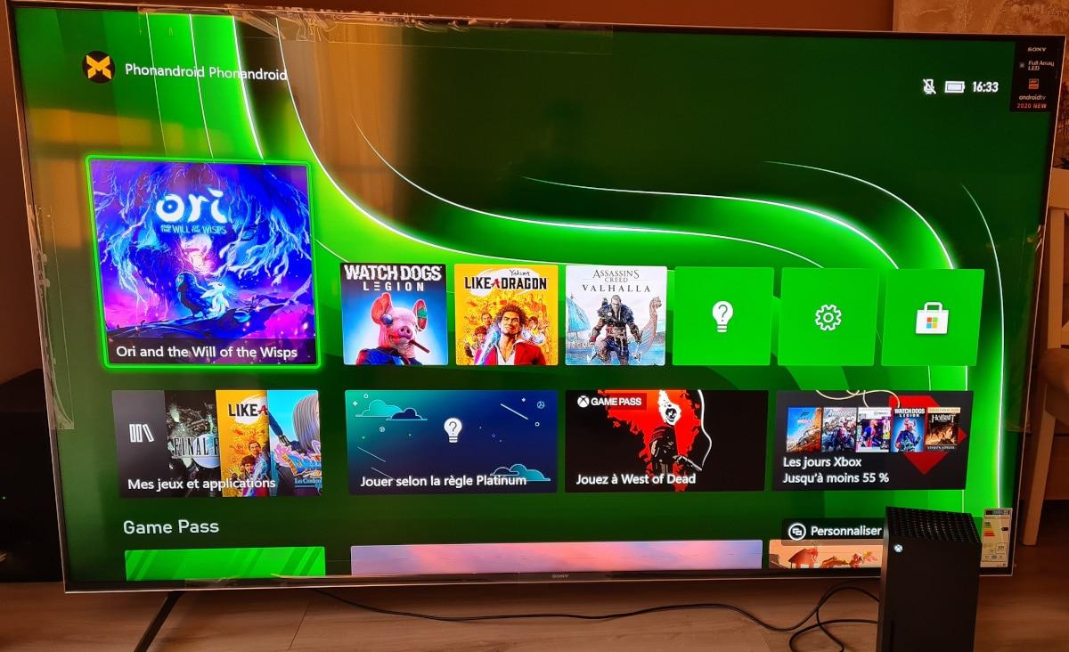 Sony Bravia XH90 gaming 1