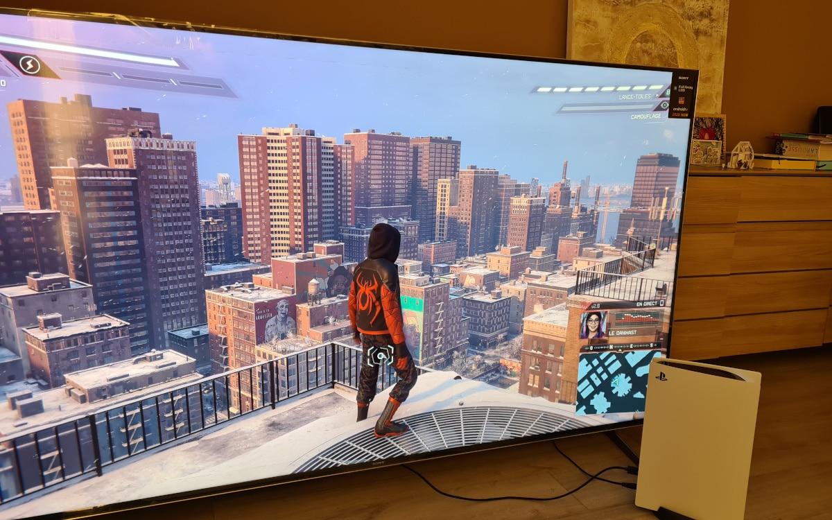 Sony Bravia XH90 gaming 2