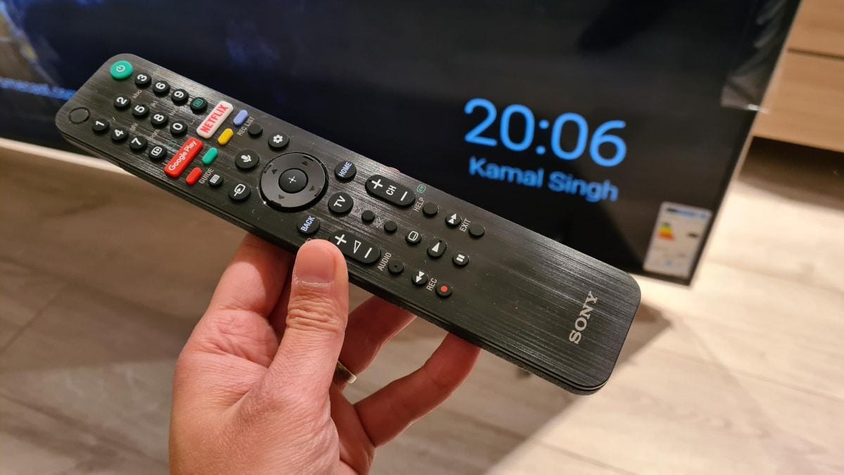 Sony Bravia XH90 telecommande 1