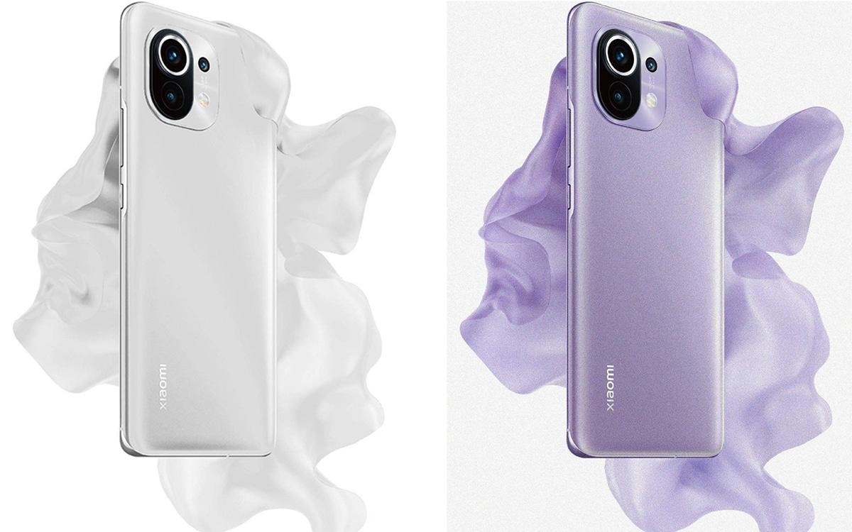 Xiaomi Mi 11 White Purple