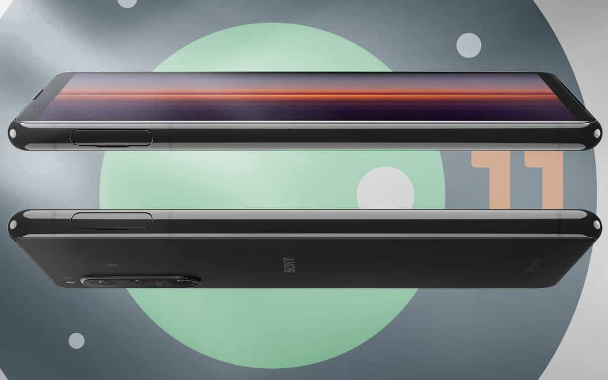 Android 11 Sony Xperia