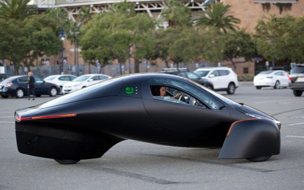 aptera motors voiture électrique solaire recharge jamais