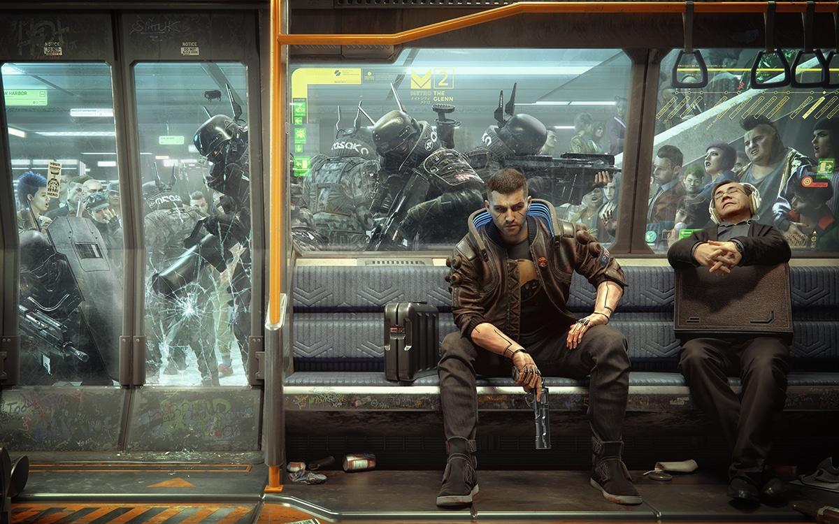 Cyberpunk 2077 Metro