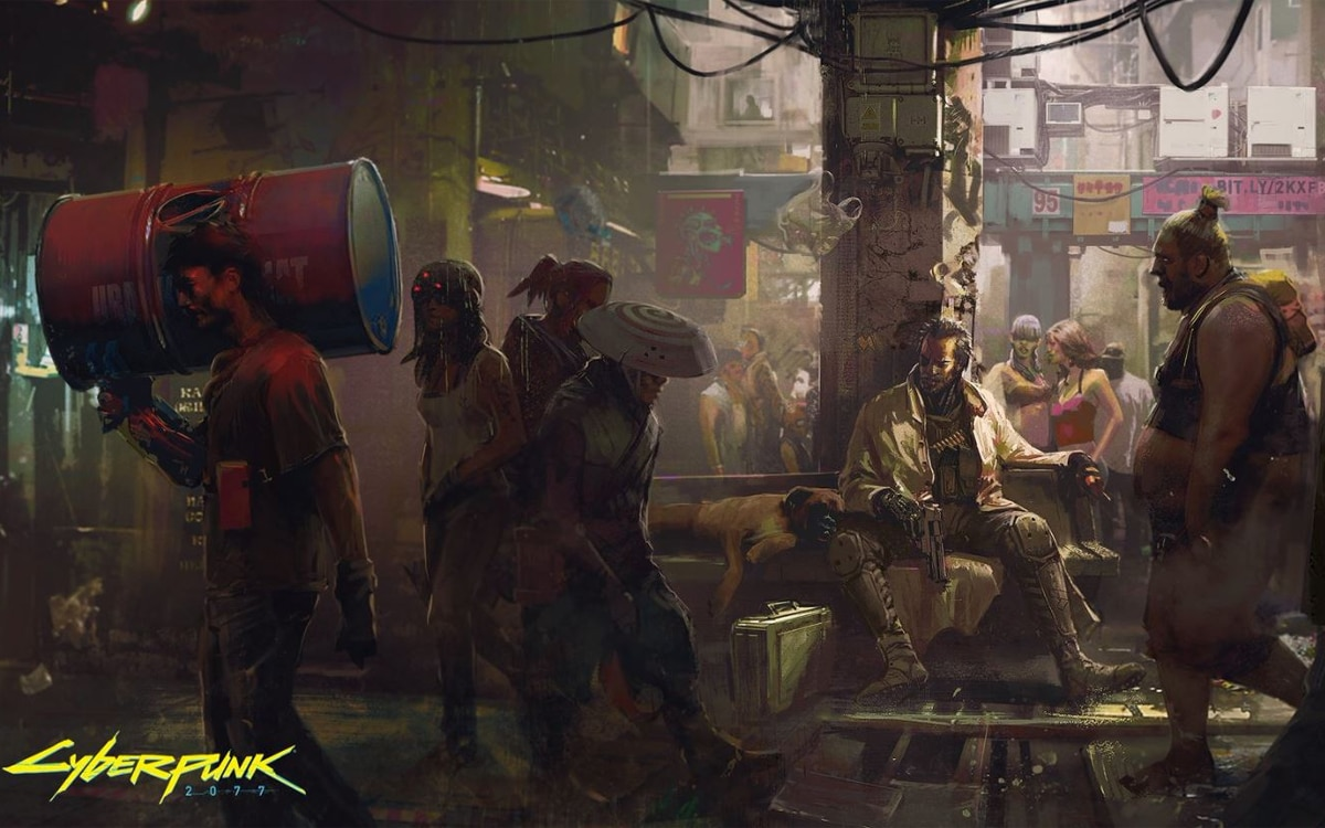 cyberpunk prechargement