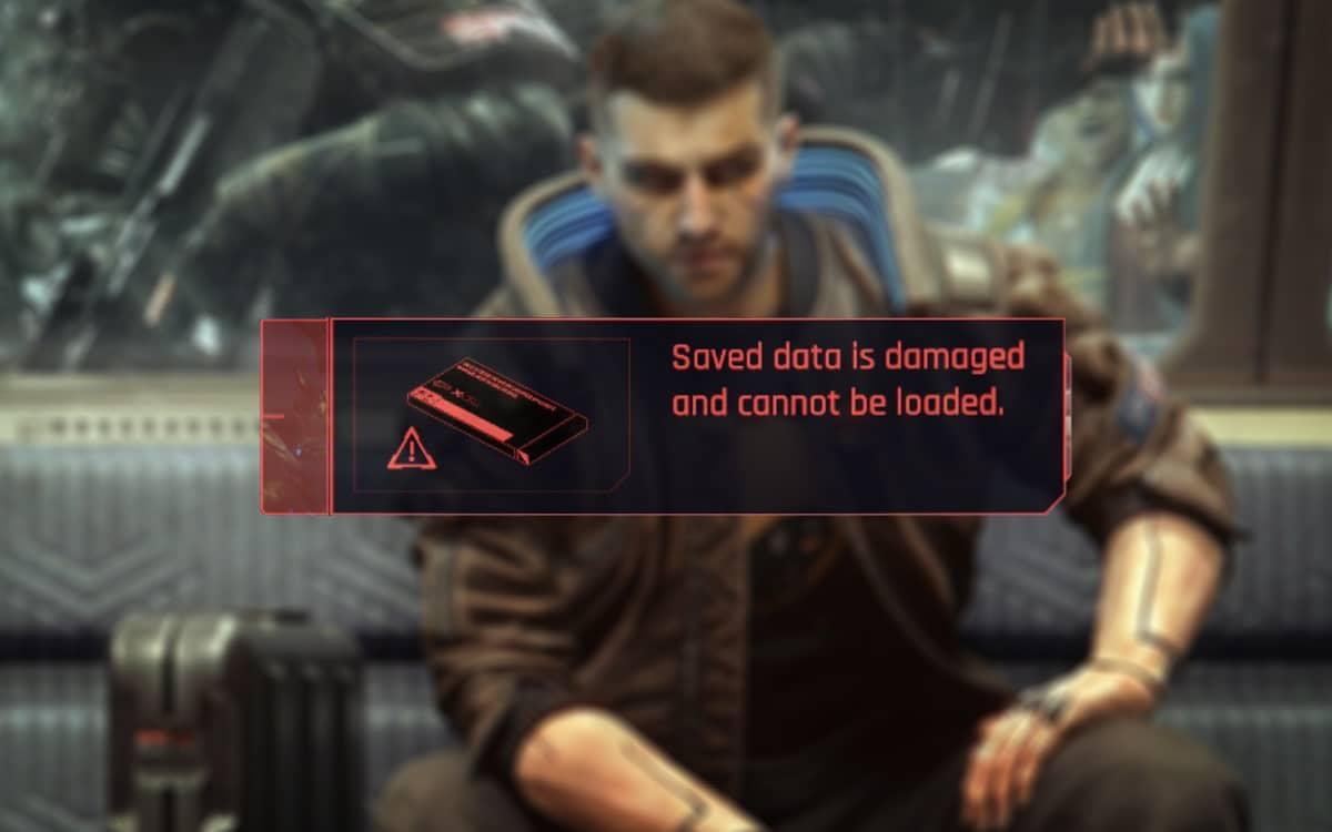 Cyberpunk 2077 bug sauvegardes
