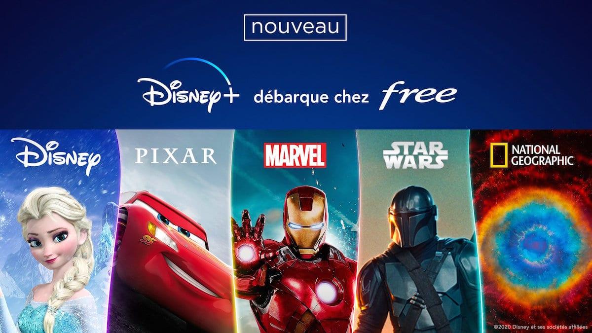 Disney plus gratuit pour les abonnés Free
