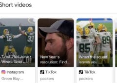 google short videos