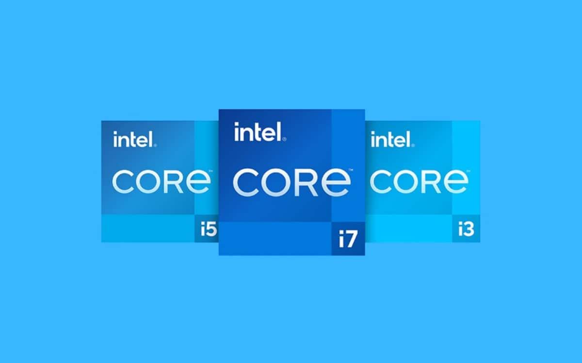 intel core i3 i5 et i7