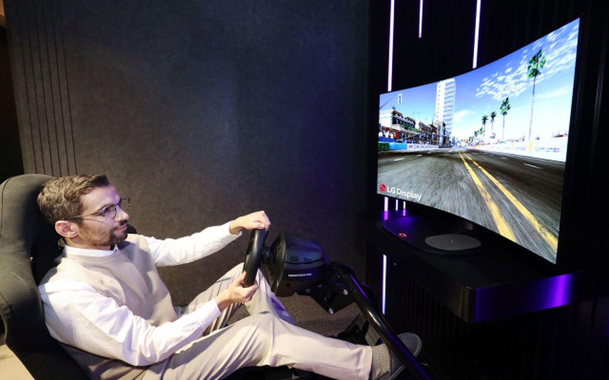 écran OLED gaming LG
