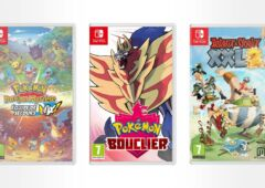 lot de 3 jeux Nintendo Switch
